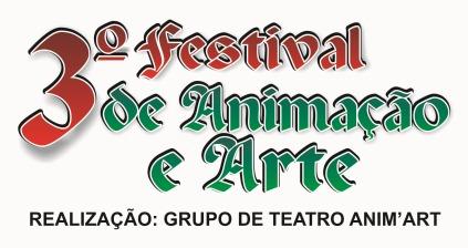 Logomarca  3º Festival de Animação e Arte
