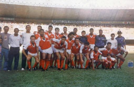 Cruzeiro 0x1 Capelinha - 1992