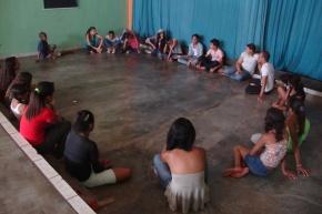 Oficina de Teatro 3º Festival de Animação e Arte - Escola Estadual Professora Rosarinha Pimentinha