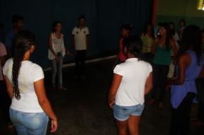 Oficina de teatro 3º Festival de Animação e Arte - Escola Estadual Profº Geralda Otoni Barbosa