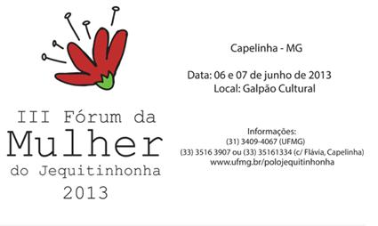 III FORUM DA MULHER