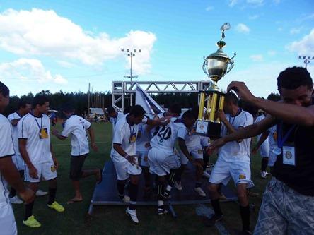 Maracujá campeão do Campeonato Rural