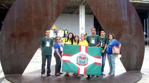 Comitiva de Capelinha na ALMG - Divulgação