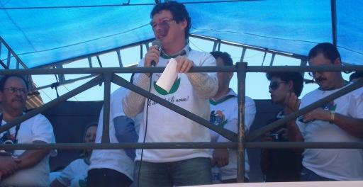 Arquivo: Deputado Reginaldo Lopes durante discurso sobre o Campus da UFVJM em Capelinha