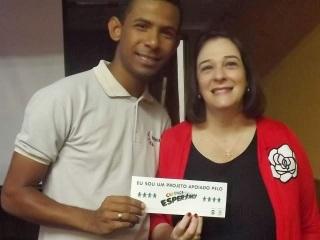William Nascimento e Marlova Noleto (Representante da UNESCO no Brasil)