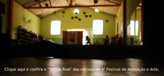 Clique aqui e confira a cobertura em tempo real do 4º Festival de Animação e Arte
