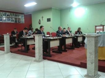 Reunião Câmara Municipal - (Foto: Rogério Chaves)