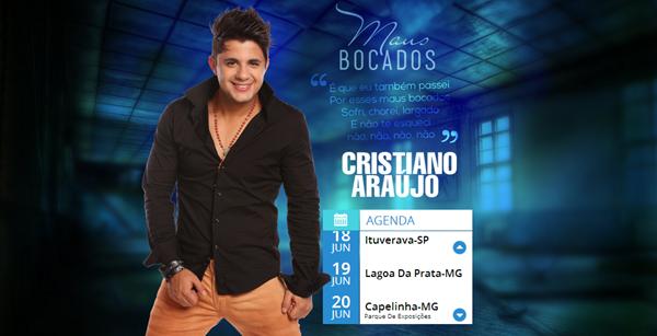 Recorte - site Cristiano Araújo