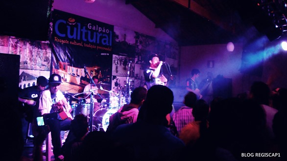 A Banda Seu Aurélio, foi um dos detaques do Galpão Cultural 2013 - Foto Reginaldo Rodrigues