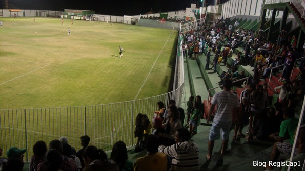 Torcida na Copa Aranãs 2014 - Foto Reginaldo Rodrigues