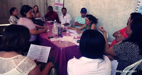 Comissão Intersetorial de Atendimento Socioeducativo reunida na Sede do CREAS em Capelinha