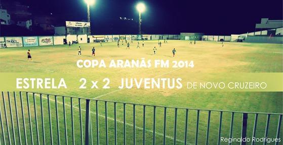 Estrela 2 x 2 Juventus de Novo Cruzeiro