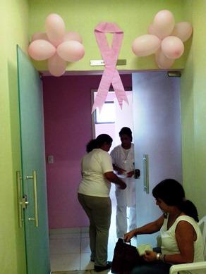 Campanha Outubro Rosa em Capelinha