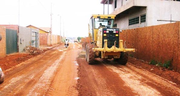 Pavimentação Rua 1º De Maio - Foto Prefeitura Municipal de Capelinha