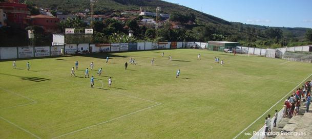 Estádio Newton Ribeiro - Capelinha MG