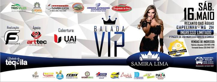 BALADA VIP - CAPELINHA MG