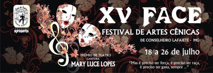 XV Festival de Artes Cênicas de Conselheiro Lafaiete