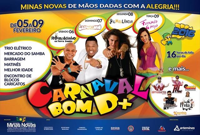 carnaval minas novas 2016