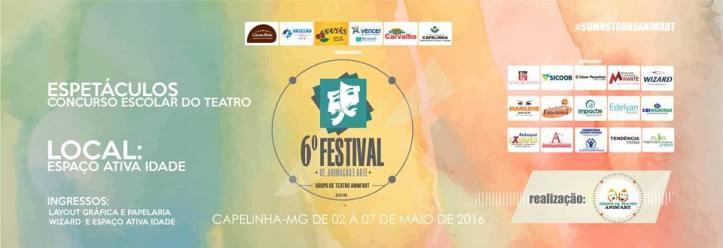 6º Festival de Animação e Arte